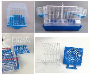 10 Nouvelle boîte de nidification de luxe en métal / plastique Pan Canary Finch britannique