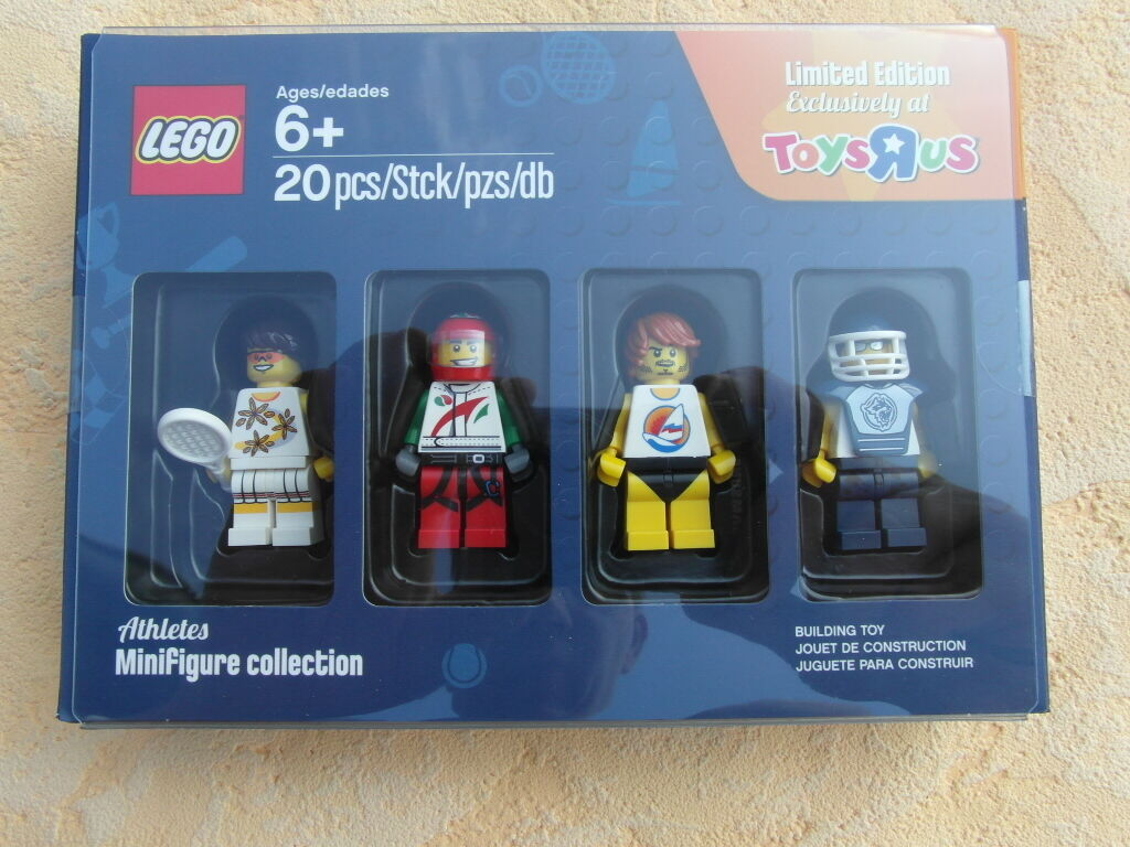 LEGO MINIFIGURE COLLECTION COLLECTION COLLECTION TOYSRUS ALLE 4 SERIE 1,2,3,4 LIMITED EDITION FIGUREN 12f71e