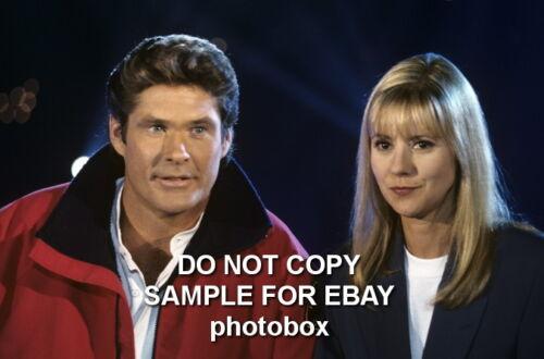 Dorothee Exclusive Unpublished PHOTO Ref 645 David Hasselhoff