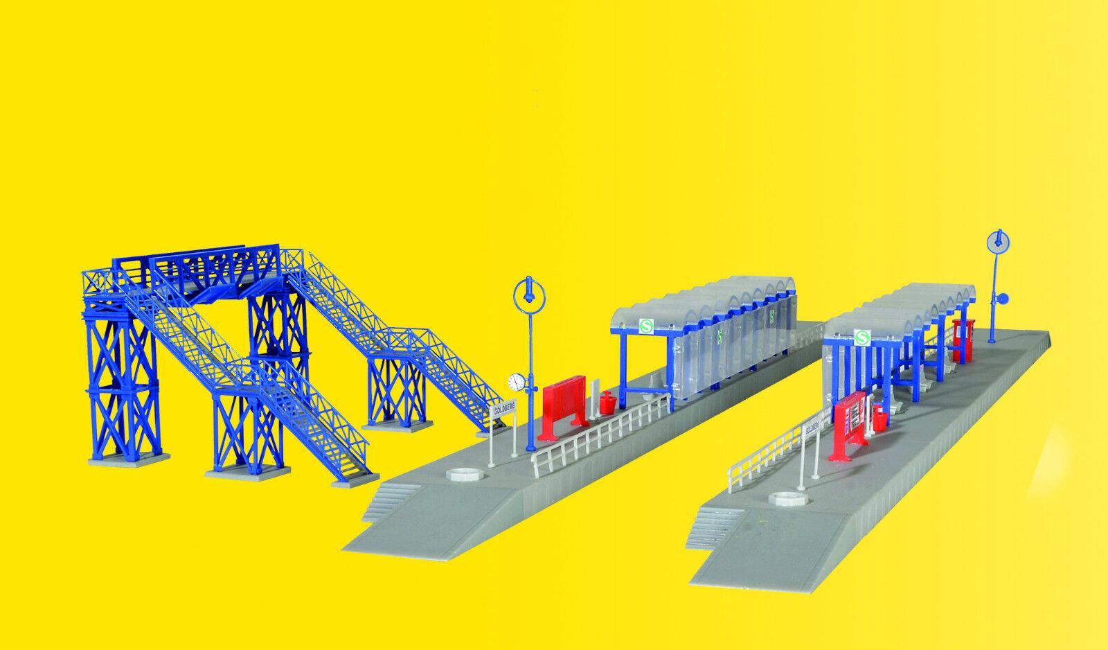 N S-Bahn parada con transitorio, pasarela modelo mundos kit 1 160, 37756 Kibri