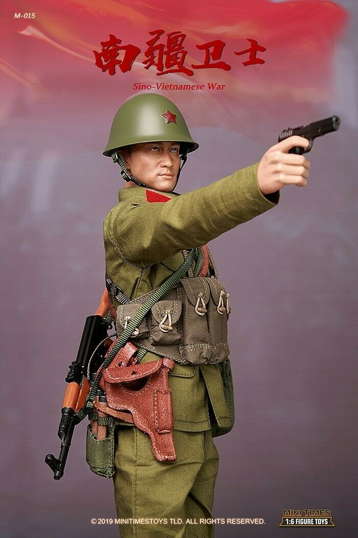 1 6 Mini Times Toys M015 PLA Sino-Vietnamese War Male Solider Figure Collectible