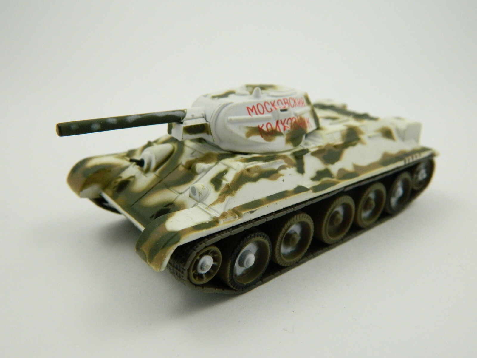 T-34 1942, Russia, 1 72nd scale diecast Tank №23 by Fabbri
