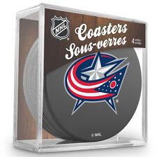 Official National Hockey League Licensed Columbus Blue Jackets Coaster Set