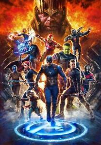 B-440 New Avengers End Game Marvel Comics 2019 Film Poster ...