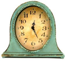 Creative Co-op Metal Gold Finish Mantel Clock