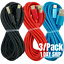 miniature 1 - 3Pack 10Ft USB Fast Charger Cable For Apple iPhone 12 11 8 7 6 XR Charging Cord
