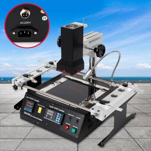 IR6500 BGA REWORK STATION machine Repair soldering Infrared Heater 1300W