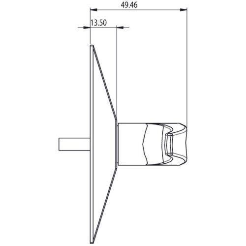Aluminium Door Lever Handle To Suit Adams Rite /& Alpro Door Locks