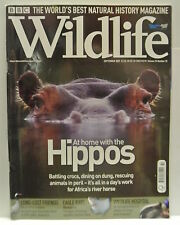BBC Wildlife Magazine, September, 2007. Volume 25, number 10. Home with Hippos.