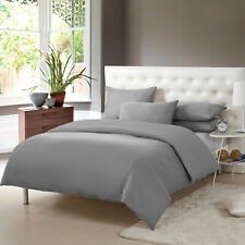 Rapport Skandi Hearts King Duvet Set 100/% Brushed Cotton Grey