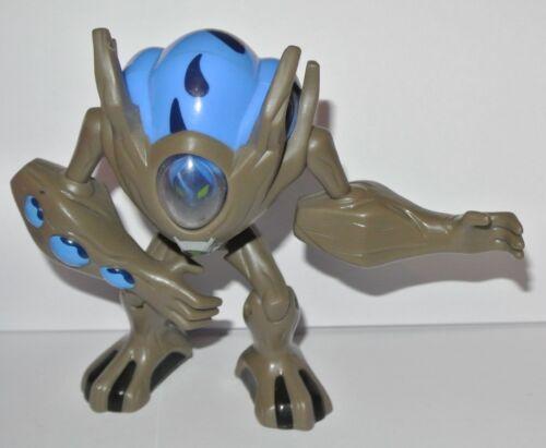 Ben 10 Action force figures Spidermonkey Swampfire Four Arms Ghostfreak Nanomech
