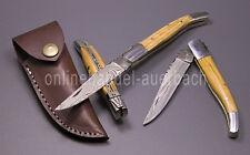 Damastmesser Damaszenermesser Taschenmesser Klappmesser Messer (Typ Laguiole)
