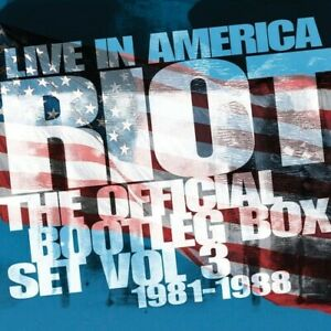 Riot-Live-In-America-Official-Bootleg-Box-Set-Vol-3-1981-1988-New