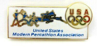 noc Olympic Pin Modern Pentathlon Association Pin Badge Usa
