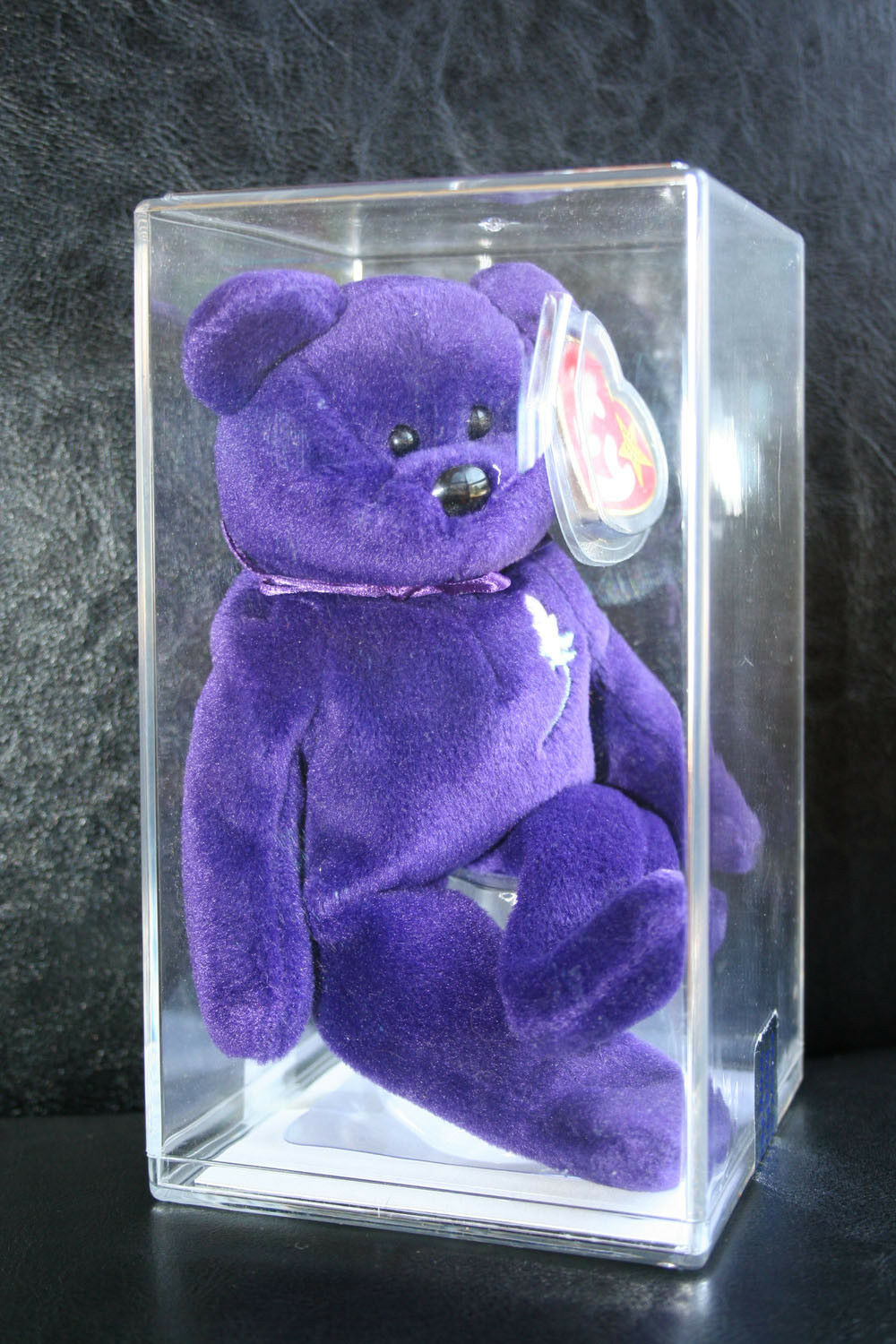 1st Edition • Authenticated • Ty Princess Diana Beanie Babies • PVC Pellets