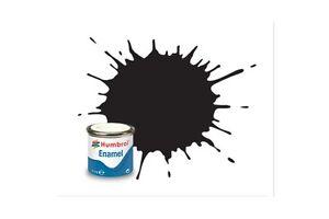 HUMBROL-Enamel-33-Noir-Mat-Matt-Black-14ml