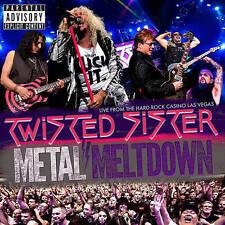 Twisted Sister: Metal Meltdown (Blu-ray/DVD, 2016, CD/Blu-ray/DVD)