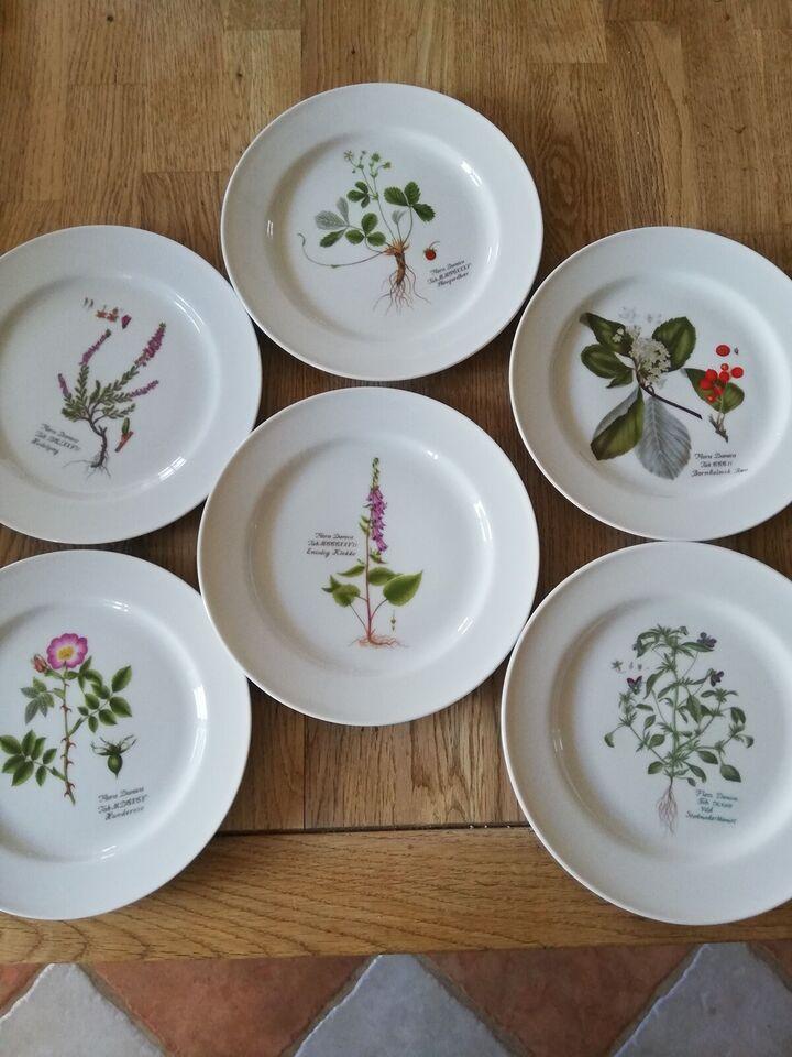 Porcelæn, Tallerken, Flora Danica