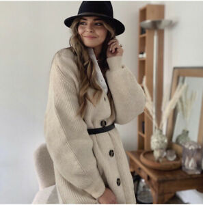 H-amp-m-conscious-Cable-Cardigan-en-mailles-taille-XL-bloggers-favorite-beige-SOLD-OUT