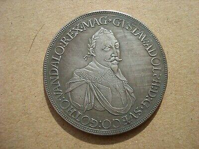 Augsburg Taler 1632 Gustav Adolph Thaler Hell Und Durchscheinend Im Aussehen