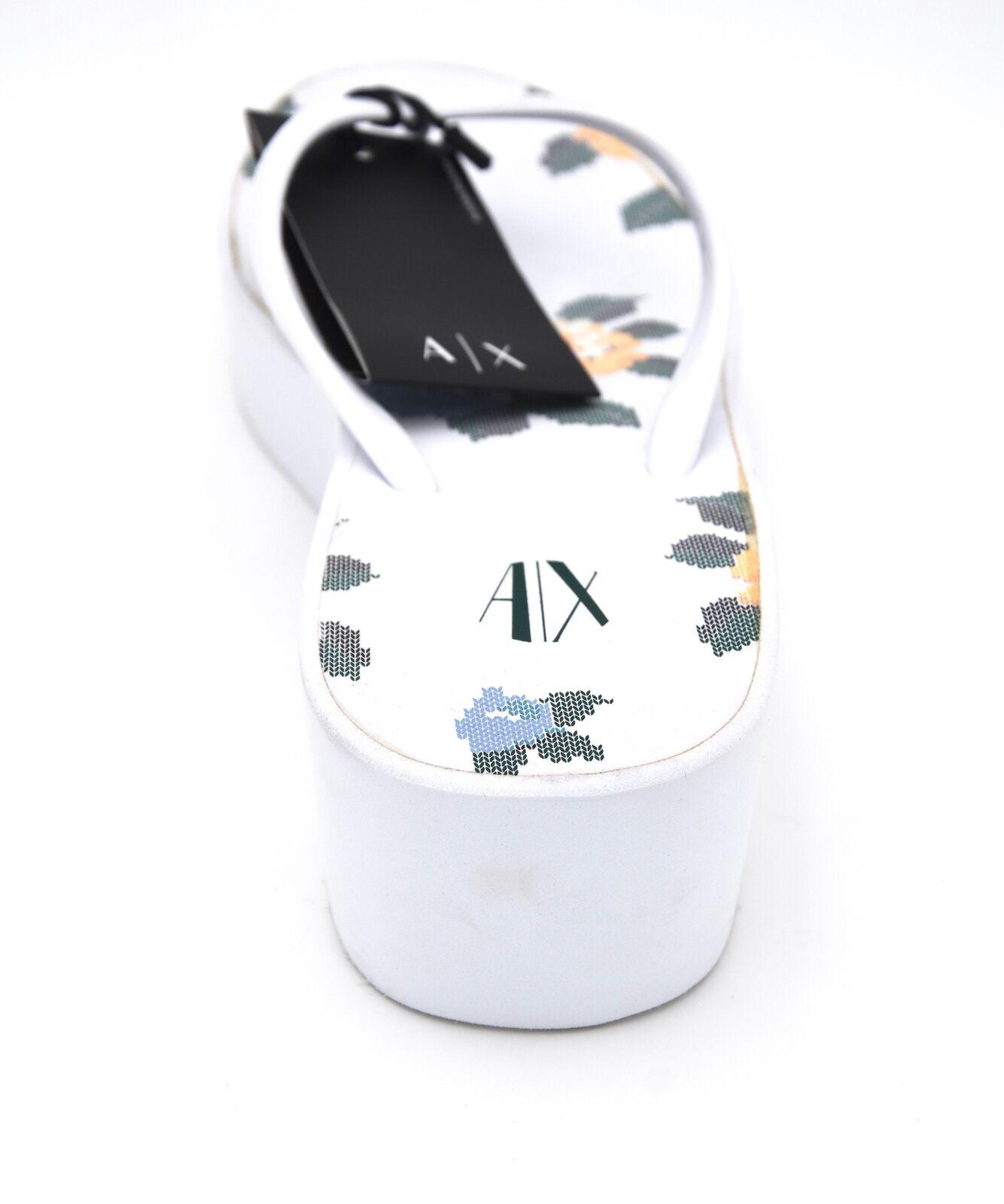 ARMANI ARMANI ARMANI EXCHANGE Damenschuhe WEDGE FLIP FLOPS SANDALS Schuhe CODE 945057 8P492 DEFECT acf3e8