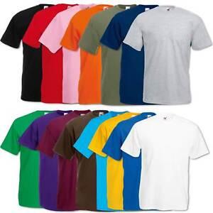 5er-10er-Fruit-of-the-Loom-T-Shirt-Herren-Shirts-Valueweight-Sets-Tshirt-S-XXL