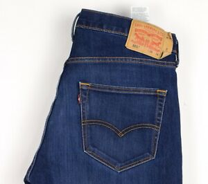 Levi's Strauss & Co Hommes 501 Jeans Jambe Droite Taille W36 L32 BCZ958