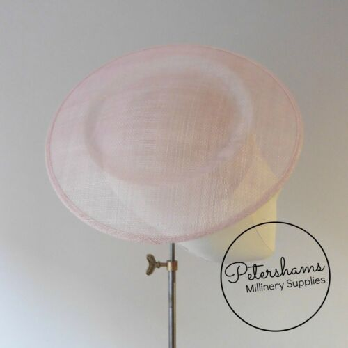 Plate Sinamay Fascinator Hat Base for Millinery Extra Large 29cm Round Saucer