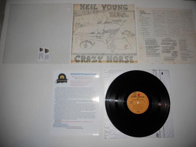 Neil Young Zuma Japan 1976 Mint 1st Analog ARCHIVE MASTER Ultrasonic CLEAN