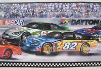 Nascar Racing Daytona Stock Car Wall Border 9