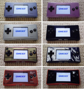 8-types-Used-Nintendo-Game-Boy-Micro-Console-JAPAN