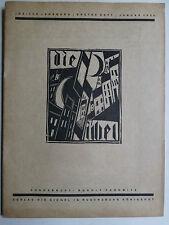 Die Sichel, Rudolf Pannwitz, Verlag die Sichel, Josef Achmann,Holzschnitt, Kunst