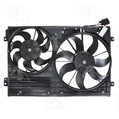 Dual Radiator and Condenser Fan Assembly-Rad Cond Fan Assembly Left 4 Seasons