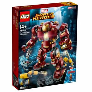 76105 LEGO LEGO MARVEL SUPER HEROES ULKBUSTER ULTRON EDITION NUOVO SIGILLATO