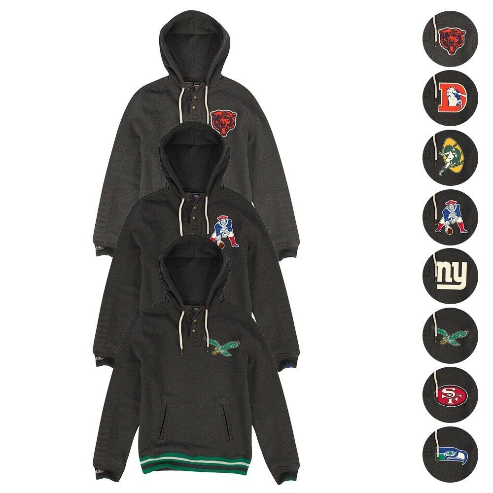7874c78d36c Mitchell & Ness San Francisco 49ers Charcoal Audible Pullover Hoodie L    eBay