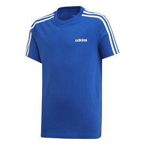 Adidas-Core-ninos-Sport-ocio-Training-camisa-Essentials-3s-t-shirt-azul