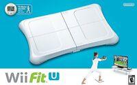 Wii Fit U W/wii Balance Board Accessory And Fit Meter - Wii U Gamepad Controller