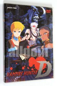 DVD-VAMPIRE-HUNTER-D-Yamato-Video-2003-Anime-RARO-FUORI-CATALOGO