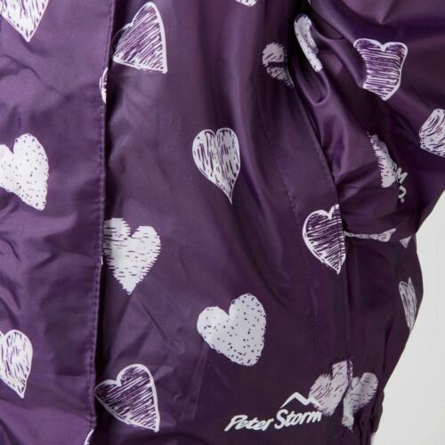 New Peter Storm Girl's Patterned Packable Jacket