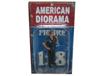 Police Officer Jake Figure 1:18 Scale Diecast Model Cars American Diorama 23841