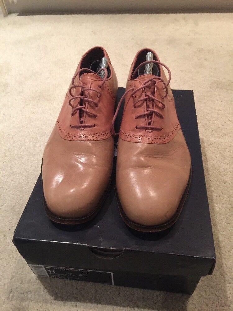 Duckies Brown Men's Beige Lace Up shoes UK 10
