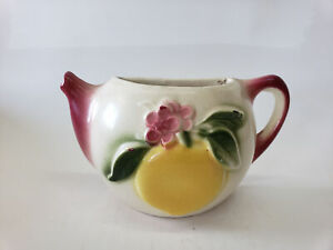Shawnee-Pottery-Teapot-Wall-Pocket-With-Fruit