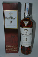 WHISKY MACALLAN 12 YEARS OLD SHERRY OAK 70cl. IN BOX RARE