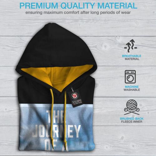Nuevo Capucha Moda capucha Negro Con Contraste Citar Hombres Motivación oro de XxYRafqw