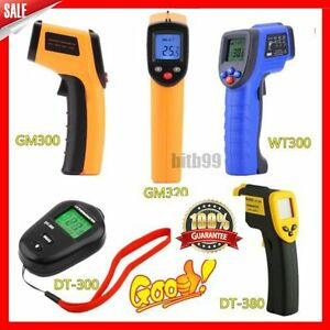 Handheld-Digital-LCD-Temperature-Thermometer-Laser-Non-Contact-IR-Infrared-B2