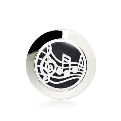 316L Steel Oil Diffuser Charms Brooch Aromatherapy Pins Essential Oil Lockets