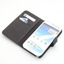 Samsung Galaxy Note 2 N7100 Handy tasche Brieftasche case schutz hülle schwarz