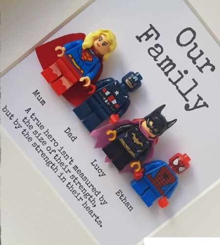 Lego superhero family