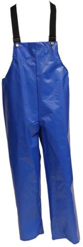 XLarge XL TINGLEY O22007 Overall Bib Iron Eagle Rain Blue Unrated