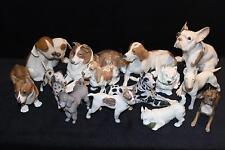 OFFER Royal Copenhagen figurine French Bulldog Boston Terrier Moller china